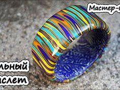 Видео мастер-класс: создаем полосатый браслет из полимерной глины с использованием экструдера | Ярмарка Мастеров - ручная работа, handmade