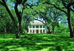 Bayside Plantation was built in 1850 for Francis Dubose Richardson along the Bayou Teche in Iberia Parish. It is a Greek Revival home with a front full-length gallery and a rear enclosed gallery that is now office and storage space. The home is situated on 14.8 acres and is surrounded by beautiful live Oaks, draped in Spanish moss.