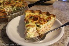 Ham Cheese & Broccoli Quiche (THM S)www.TrimHealthyMama.com