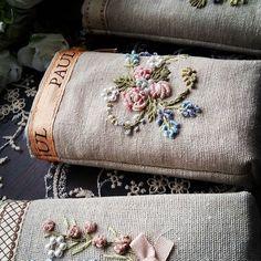 Рукоделие#вышивка #прованс #готоваяработа #мешочекдляплаточков#хэндмейд #нежно #подарочек #девушке #длядуши #bm_embroidery #best_handmade_world #идеи