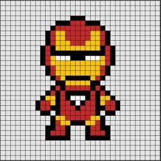 Discover recipes, home ideas, style inspiration and other ideas to try. Perler Beads, Hama Beads Disney, Perler Bead Art, Pixel Art Simples, Easy Pixel Art, Hama Beads Design, Hama Beads Patterns, Beading Patterns, Loom Patterns
