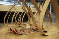 Onion Pinch & Napping Pod Projects at Cite' de l'architecture et du Patrimoine   ArchDaily