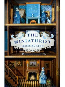 """""""The Miniaturist"""" by Jessie Burton. Shortlisted for The Bookseller Book of the Year, Richard & Judy Book Club Spring 2015 Title, Waterstones Book of the Year, Specsavers Book of the Year & National Book Awards New Writer of the Year. Published by Picador. I Love Books, Great Books, New Books, Books To Read, Amazing Books, Book Club Reads, Thing 1, Beautiful Book Covers, Book Cover Design"""
