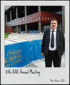 Primer día del 177th AAO Annual Meeting - New Orleans (USA)