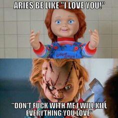 Aries be like ahahah