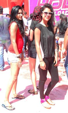 Nia Sharma at Holi Reloaded at JVPD Ground in Juhu. #Bollywood #Fashion #Style #Beauty #Holi