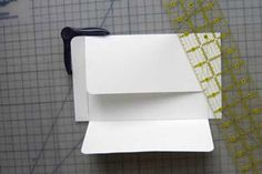 How to make any size envelope by Splitcoaststampers - Tutorials