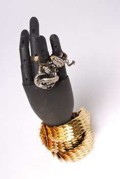 Unleash your inner animal with fun jewelry.