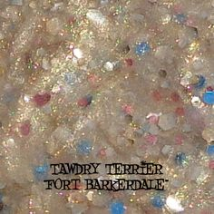 """@Tawdry Terrier """"Fort Barkerdale"""" #macro - available at http://www.etsy.com/shop/TawdryTerrier #nailpolish #indienailpolish #tawdryterrier"""