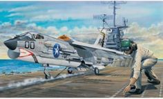 art on Cat by on DeviantArt Military Jets, Military Aircraft, Fighter Pilot, Fighter Jets, Flying Ace, Airplane Art, Top Gun, Aircraft Pictures, Aviation Art