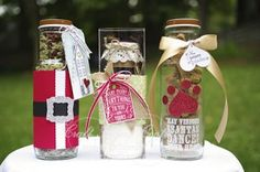 Recycled Bottle Gifts! www.craftprojectcentral.com Create three holiday gifts by recycling Starbuck's drink bottles. This tutorial will demonstrate three unique gift ideas with festive decoration, and the gifts are sure to be a perfect fit for some of the names on your list.