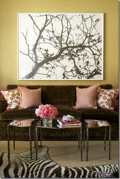 Ideas for artwork over the sofa