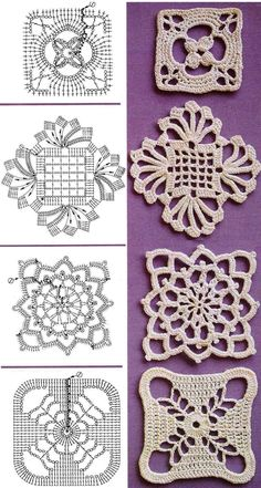Crochet Diagrams: I figured this one out . . . now what to do? | G-Ma Ellen's Hands - Adventures in Crochet and Knit
