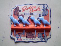 vintage birthday candle holders