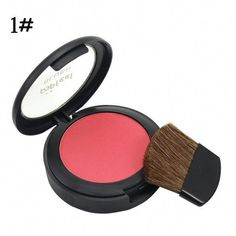 6 Colors Long Lasting Maquiagem Blusher Makeup Palette Powder Natural Make Up Blush Bronzer With Brush #BlusherMakeup #HomemadeBlush #HowToCleanMakeupBrushes Blusher Makeup, Cheek Makeup, Body Makeup, Makeup Blush, How To Clean Makeup Brushes, How To Apply Makeup, How To Apply Blusher, Homemade Blush, Blush Brush