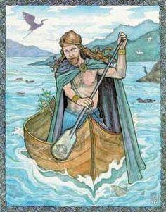 Celtic sea God Manannan