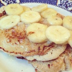 Skinny Pancakes - flour-free and only 5 weight watchers propoints for 2 filling pancakes!