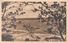 Ostseebad Neukuhren. Hafenpartie, um 1940.