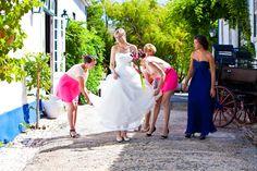 Kit de Beleza de Vera Garcia. #casamento #Portugal #noiva #amigas