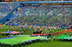 Seattle Sounders FC Inaugural Game HDR by Mike Fiechtner, via Flickr