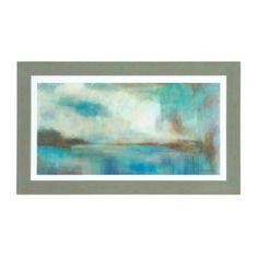 Option for above Master bed Soft Coastal Landscape Framed Art Print   Kirklands
