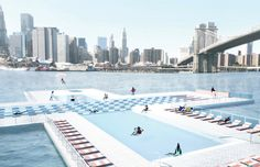 1 | Kickstarter At Its Craziest: A Pool That Floats In NYC's East River | Co.Design: business + innovation + design