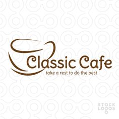 $150 only! Classic Cafe Logo.