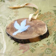 Olive branch Christmas decoration
