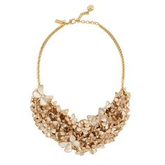 Kate Spade, Papillon Pearls Bib necklace