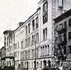The Chelsea block where silent films weremade