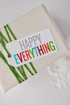 Holiday Gift Tags | Free Printables