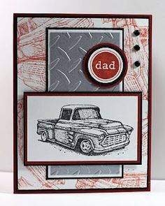 "airbornewife's stamping spot: SC327 & OWH ""DAD"" Father's Day card"