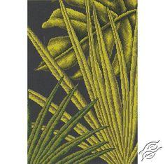 Palm Leaves I - Cross Stitch Kits by RTO - M446