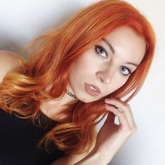 #NYC blogger @ashley_unicorn found a way to make #ManicPanic #haircolor look relatively natural ! Her seasoned #stylist @hairbyemmycat mixed #electricbanana and #redpassion to make this #beauty a #fiery #redhead . Wanna know what's not very natural about this combination? Both #colours #glow under black light!