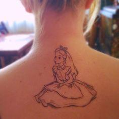 Alice in Wonderland #Tattoo