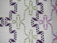 Artes da fibra - sueco Weaving (Pano de Monk) Bebê afegão