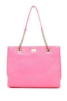 Loving this pink sedgewick lane phoebe satchel by kate spade on @HauteLook