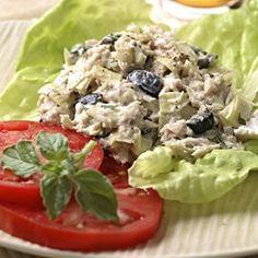 Artichoke & Ripe Olive Tuna Salad - EatingWell.com
