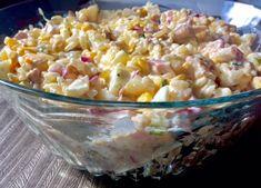 Sałatka z wędzonym kurczakiem i ananasem - Blog z apetytem Orzo, Lunch, Vegetables, Food, Pineapple, Eat Lunch, Essen, Vegetable Recipes, Meals