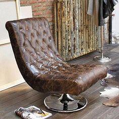 Traumhaft - ein solider Ledersessel lädt zum Relaxen ein!