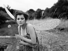 Marion Cotillard I believe her to be one of those most gorgeous and fascinating beings on the planet.