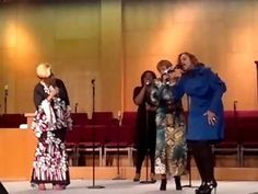 "Dorinda Clark Cole The Clark Sisters ""Is My Living in Vain"""