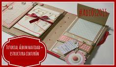 Tutorial álbum Navidad+Estructura cinturón Adiós 2015 Tiempo y Lugar