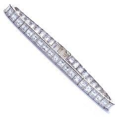 princess diamond Tennis Bracelet