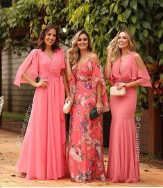 Pink Prom Dresses, Long Bridesmaid Dresses, Nice Dresses, Evening Dresses, Girls Dresses, Summer Dresses, Formal Dresses, Long Party Gowns, Sweet Dress
