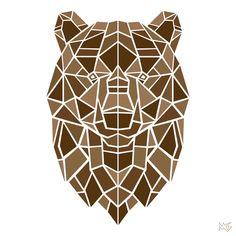 Geometric Animals by Mike Gembarski, via Behance