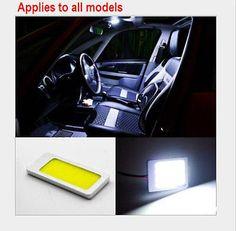 details about 48 led cob chip car panel festoon lamp interior room dome light 12v t10