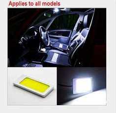 48-LED-COB-Chip-Car-Panel-Festoon-Lamp-Interior-Room-Dome-Light-12V-T10