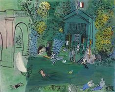 View La Marne (Circa By Raoul Dufy; oil on canvas; Access more artwork lots and estimated & realized auction prices on MutualArt. Abstract Landscape Painting, Landscape Paintings, Landscapes, Art Fauvisme, Catalogue Raisonne, Raoul Dufy, Art Folder, Exhibition Poster, Scenic Design