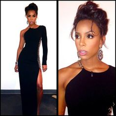 Color Story: Kelly Rowland's X-Factor Live Makeup